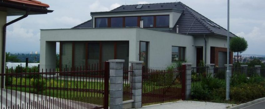Rodinný dům v Plzni